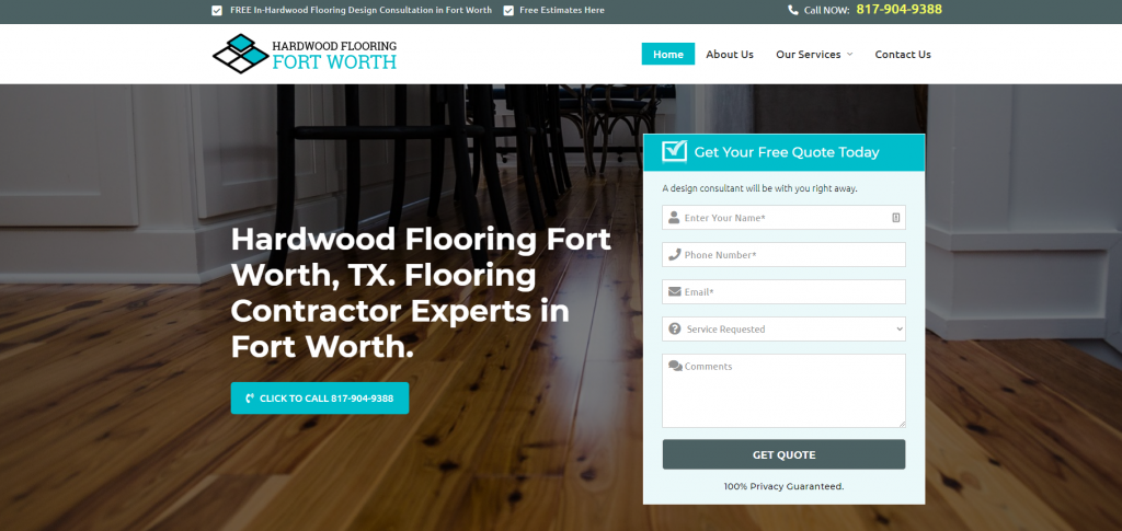 hardwood flooring fort worth