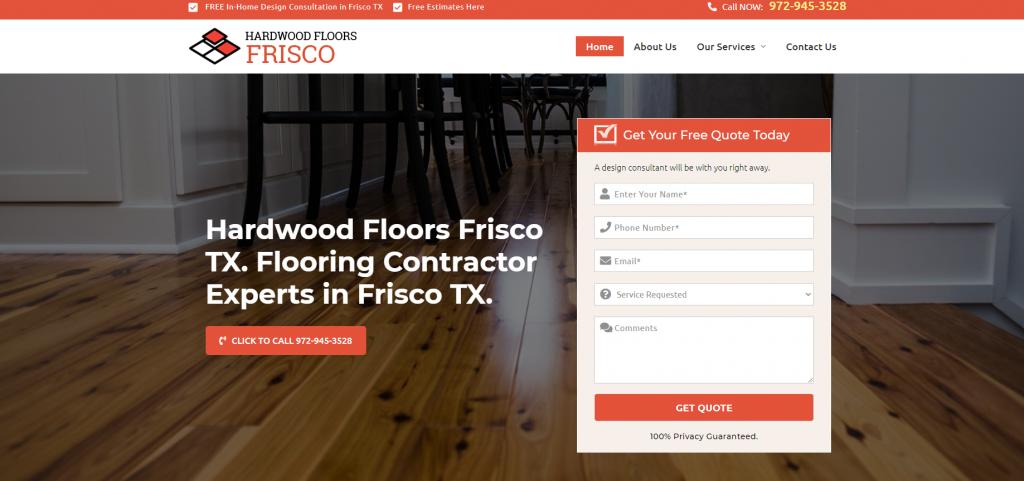 hardwood floors frisco tx