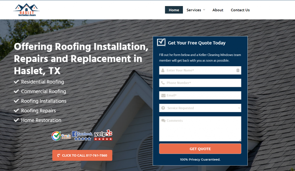 roofing haslet tx