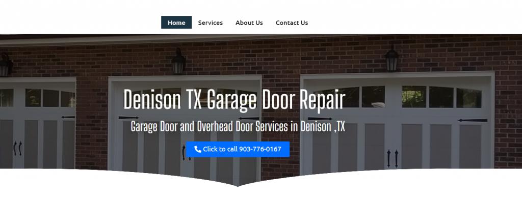 denison tx garage door