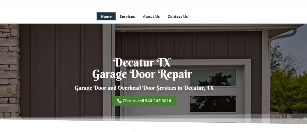 decatur garage door repair