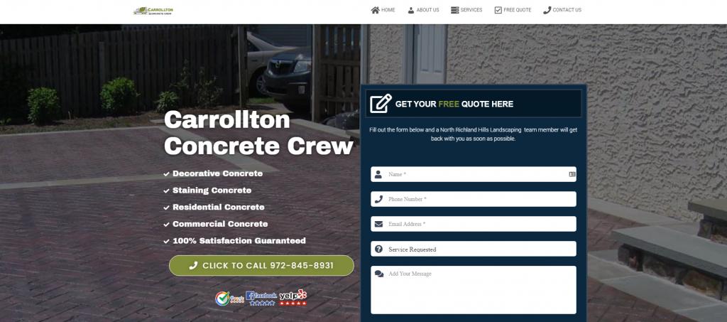carrollton concrete crew