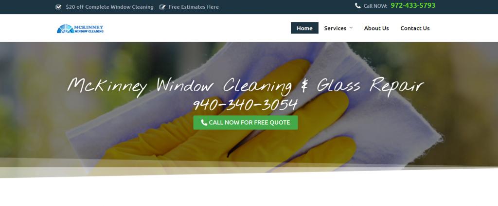 window cleaning mckinney tx