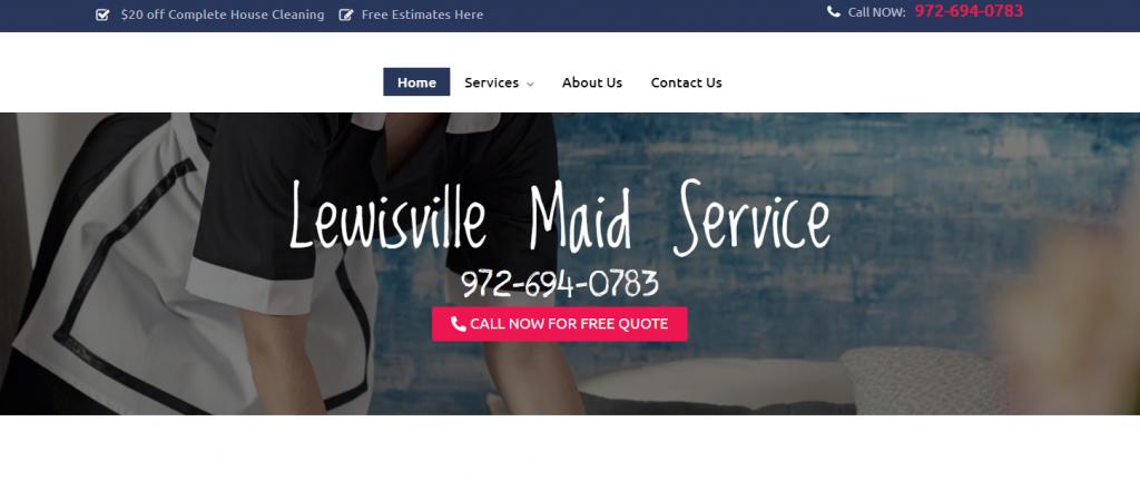 lewisville maid service